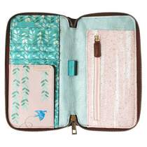 House of Disaster Secret Garden bird travel wallet