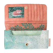 House of Disaster Secret Garden fox wallet