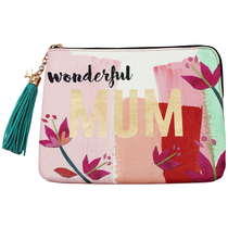 """House of Disaster Ta-daa """"Wonderful Mum"""" pouch in a gift box"""