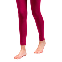HuiGee Basic Leggings, fuchsia