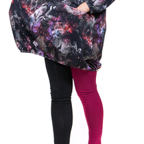 HuiGee Basic Women's leggings Jazz, fuchsia/black