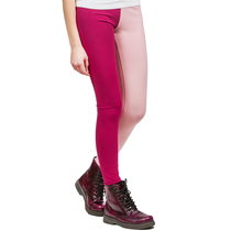 HuiGee Basic naisten leggings Jazz, fuksia/roosa