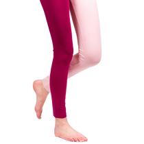 HuiGee Basic women's leggings Jazz, fuchsia/rose