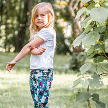 HuiGee Moomin children's leggings Joy