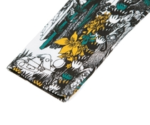 HuiGee Moomin children's leggings the Hobgoblin's hat, petrol/yellow