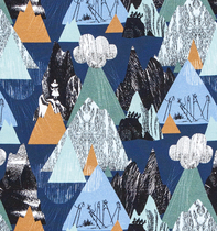 HuiGee Moomin children's shirt Mountains, 80-122cm