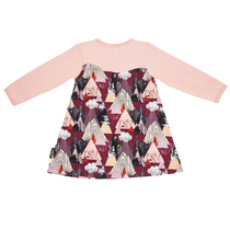 HuiGee Moomin children's tunic-dress Mountains, 80-128cm