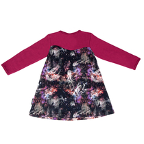 HuiGee Moomin children's tunic-dress Universum, fuchsia