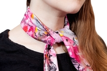 HuiGee Moomin multifunctional scarf Sea Adventure, pink
