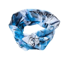 HuiGee Moomin tube scarf Meriseikkailu, blue, 2 sizes