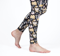 HuiGee Moomin women's leggings Lighthouse