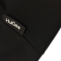 HuiGee reflective beanie Groke, black/grey 2 sizes