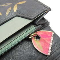Ink Press Garden Cat wallet by Disaster Design