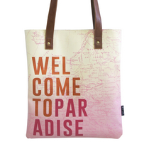 Jet Lag shopper bag
