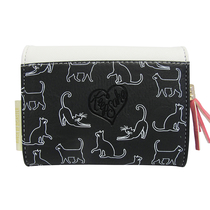 "Keepsake ""I love cats"" wallet"