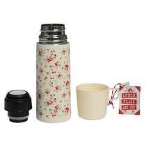 La Petite Rose thermos with a mug, 350ml