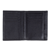 Lasessor Moomin men's leather wallet, black