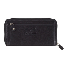 Lasessor Moominmamma leather wallet, black