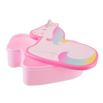Lunch box, Betty Unicorn, rainbow