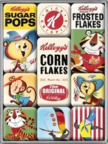 Magnet set Kellogg's Corn Flakes animals