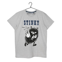 Men's Stinky short-sleeved pyjamas, grey