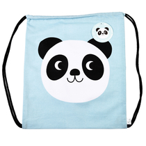 Miko Panda drawstring bag