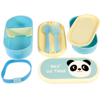 Miko the panda lunchbox for a child