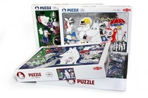 Moomin Comic 3 puzzle, 1000 pieces