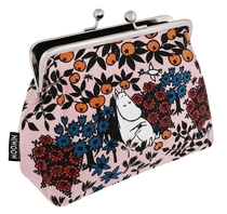 Moomin Emma makeup bag / pouch Berry, rose