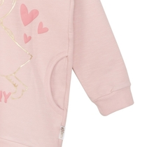 Moomin Hearts children's jersey tunic, rose