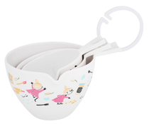 Moomin Little My baking measurement cups/dishes 0,5dl, 1dl, 2dl