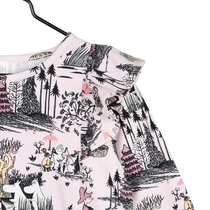 Moomin Mangrove girl's shirt, rose