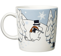 Moomin Mug Winter Forest 2012