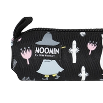Moomin Muhveli pencil case / make-up bag Moonlight, black