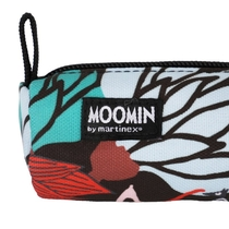 Moomin Muhveli pencil case/make up bag Magic Forest, black
