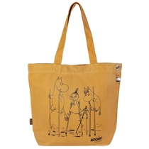 Moomin Nana bag Flood, yellow