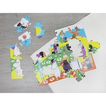 Moomin Numbers -Giant puzzle