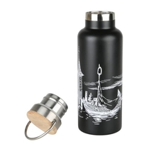 Moomin #OURSEA drinking bottle, black