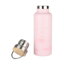 Moomin #OURSEA drinking bottle, light pink