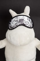 Moomin Sleeping mask Little My, black/white