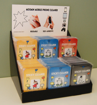 Moomin Sticky Cleaner, 4-set different characters
