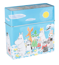 Moomin Summerday coffee filter jar, blue