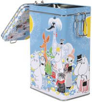 Moomin Summerday coffee jar, blue