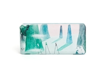 Moomin Sunglass/ glasses case, Comet, with a cleaning cloth