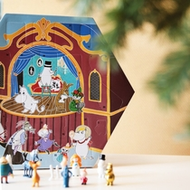 Moomin Toy Christmas Calender, Theater 2019