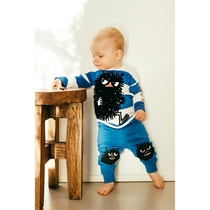 Moomin baby's Stinky trousers, blue