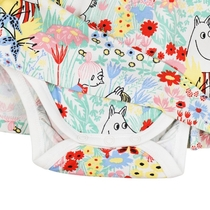 Moomin baby's bodydress Buttercup, off-white