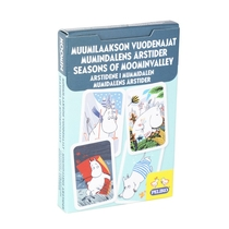 Moomin card game Seasons of Moominvalley