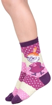 Moomin children's socks 2 pairs, Little My Joy, different sizes, plum