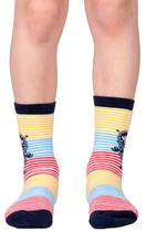Moomin children's socks 2 pairs, Moomintroll and Stinky, different sizes, blue